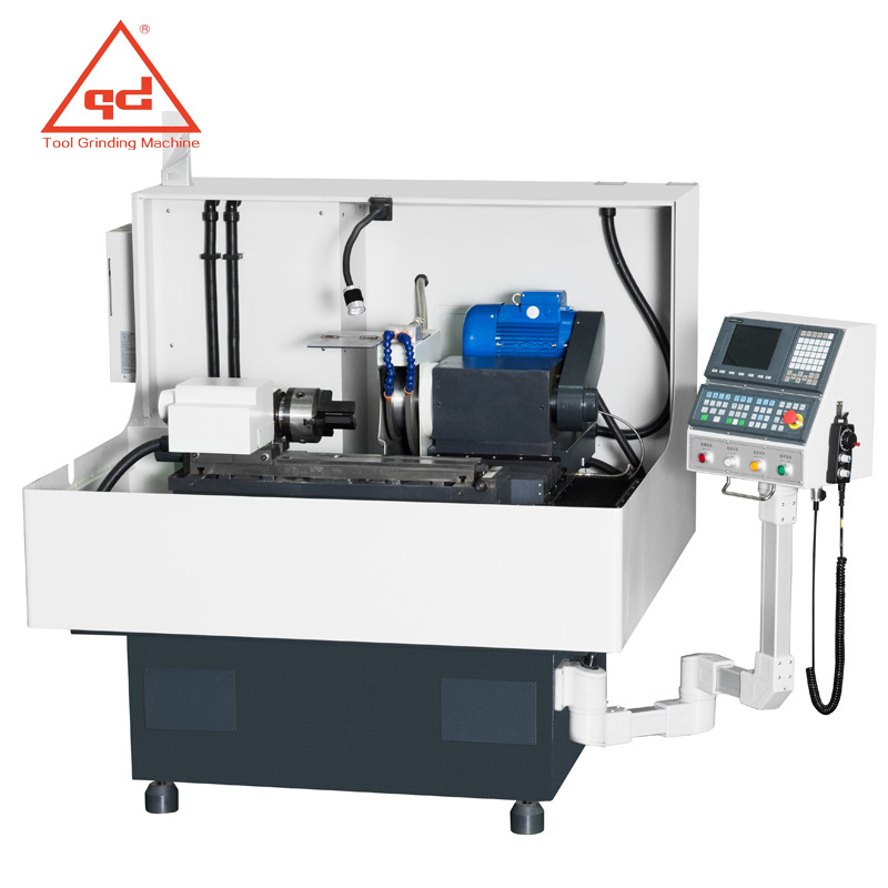 QD325 External cylindrical & End play CNC Grinder for drill gun